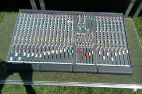 Up To 24 Channels. A Mixer For The Bigger Event