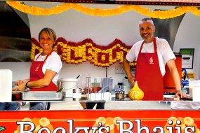 Becky's Bhajis Indian street food party and event hire