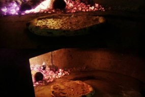 Top That Pizza, Wood fired oven