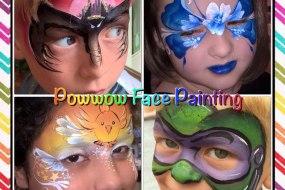 Powwow Face Painting