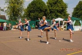 Flashmob Vintage Dancers
