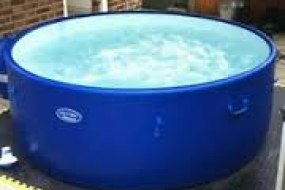 Rigid wall hot tubs