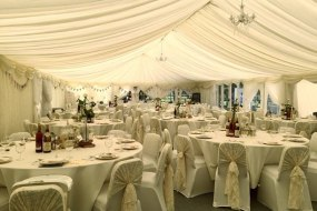 vintage wedding interior