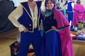 Pirate Jake and Princess Elsa