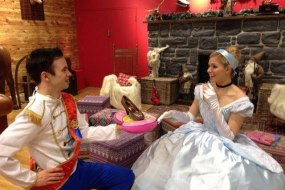 """""""Is the your Shoe?"""" Prince Charming and Cinderella"""
