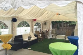 4x6 Meter Marquee Hire Lining