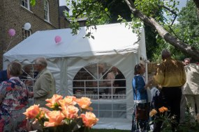 4x4 Meter Marquee Hire Catering Tent