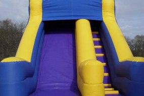 Purple & Yellow Mega Slide 10ft Platform
