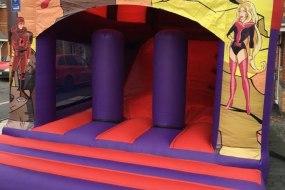 Superheros Bounce 'n' Slide Combo