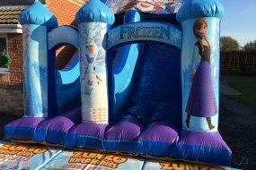 Frozen Mega Slide with 10ft Platform