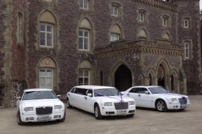 Chrysler 300 c Limousines and Saloon Bridal cars