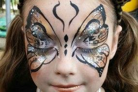Fancy dress face art by sunny-faces