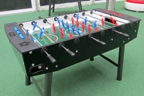 Football tables for parties and events