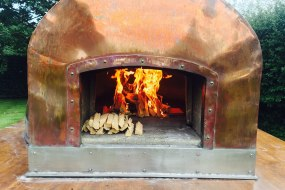 Copper Wood Fired oven