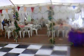 Marquee set up , Shropshire Hog roasts