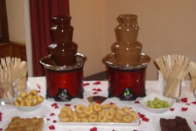 double chocolate fountain