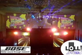 Professional discos - professional equipment Bose