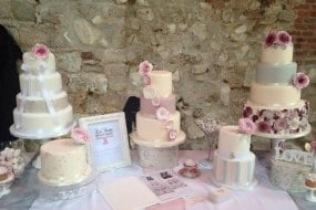 Wedding Cakes @ Lulworth Castle Wedding Fayre Dorset