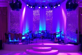 Wedding Lighting at Landmark Hotel in London