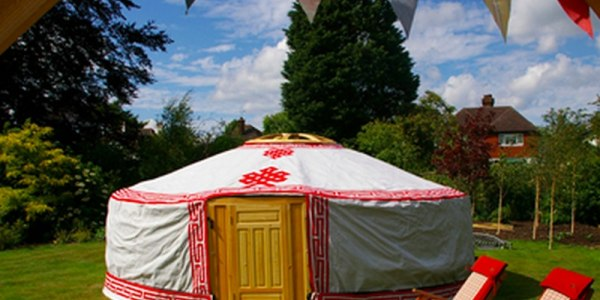 Yurts Up Tent Hire