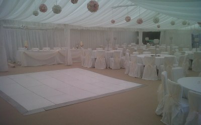 Funky Hippo Wedding Marquee
