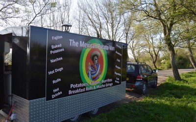 Mobile catering mexican potato van Chippenham