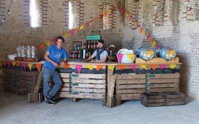Our famous potato crate bar