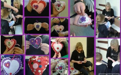 Valentines hearts workshop