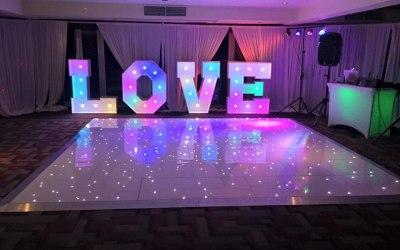 Love Letters Hire & LED Dancefloor