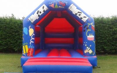 Bouncy Blob Castle Hire 3