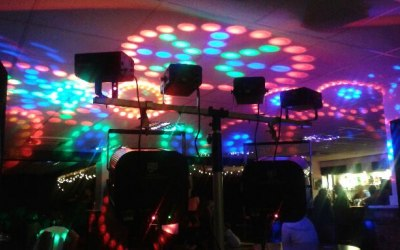 Our Standard Mobile Disco Lighting