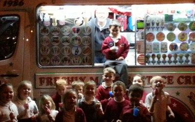 ice cream van hire for birthdays