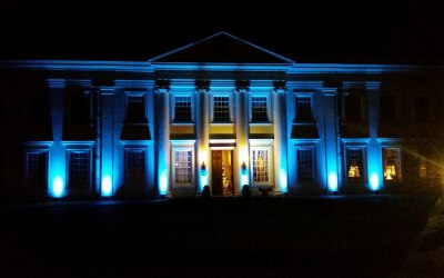 Exterior Venue UpLighting in choice of many colours