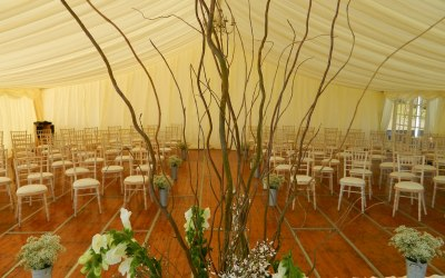 Marquee Ceremony / Dance Floor Area