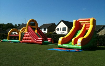 Obstacle Course Hire & Slide Hire in Leeds