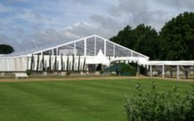 Corporate Marquee - Clear PVC