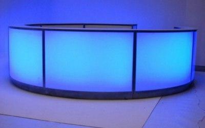 Circular LED Bar Hire