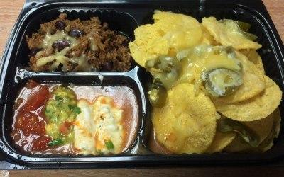 Special nacho plate