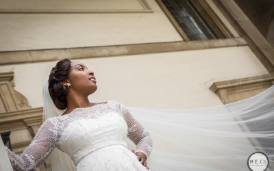 Bride London wedding Mekx Photography