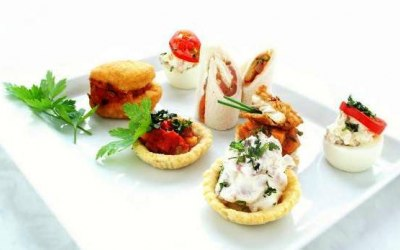 selection of cultural canapes