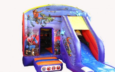Action Hero Bouncy Castle Exeter