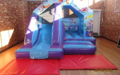 15 x 12 Party Front Combi Bouncy Castle Hire £75.00