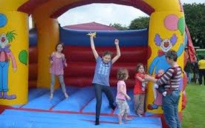 Children at play.