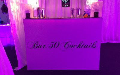 Branded bar hire London and Kent