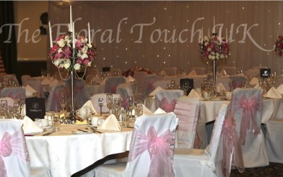 The floral touch uk flowers north yorkshire yorkshire wedding hire 5 arm candelabra centrepiece hire with or without floral arrangement junglespirit Image collections