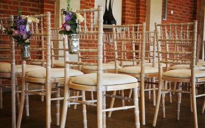 Limewash Chiavari Wedding Chair