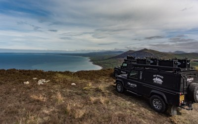 Land Rover Drover on Snowdonia