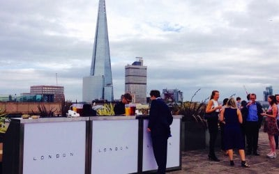 Corporate mobile bar hire