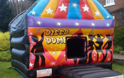 Disco Dome - Bouncy Castle Hire Liverpool & Cheshire