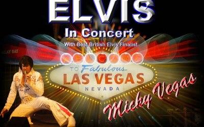 Micky Vegas as Elvis in Concert 1